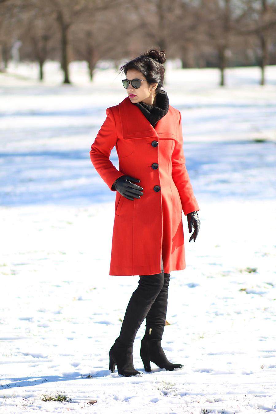 Bright Color In Winter