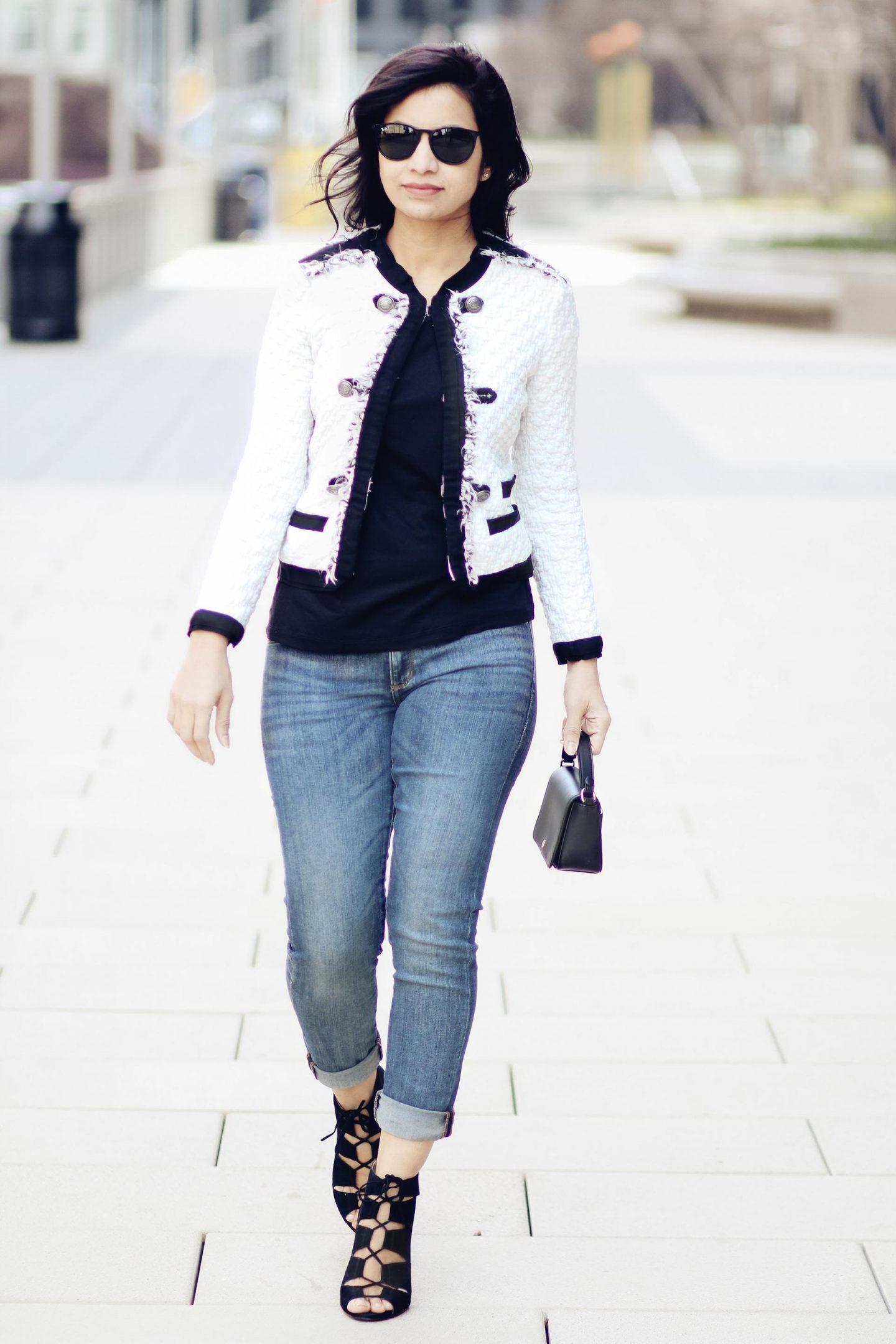 Chanel Style Jacket Styleroundtheclock